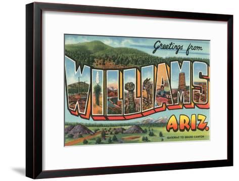 Greetings from Arizona--Framed Art Print