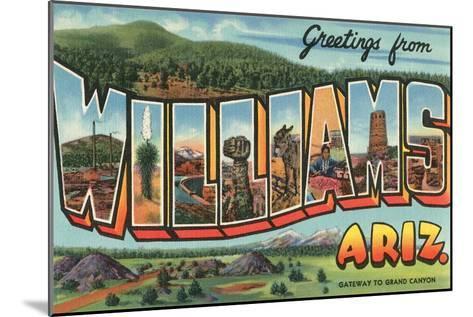 Greetings from Arizona--Mounted Art Print