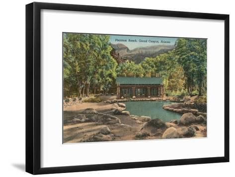 Phantom Ranch, Grand Canyon, Arizona--Framed Art Print