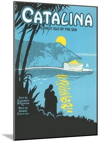 Sheet Music for Catalina--Mounted Art Print
