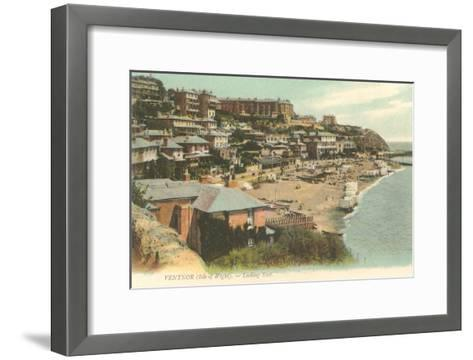 Ventor, Isle of Wight, England--Framed Art Print