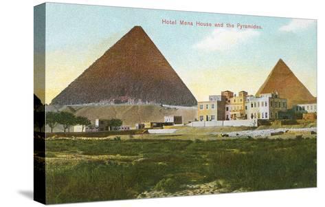 Hotel Mena House, Pyramids, Giza, Egypt--Stretched Canvas Print