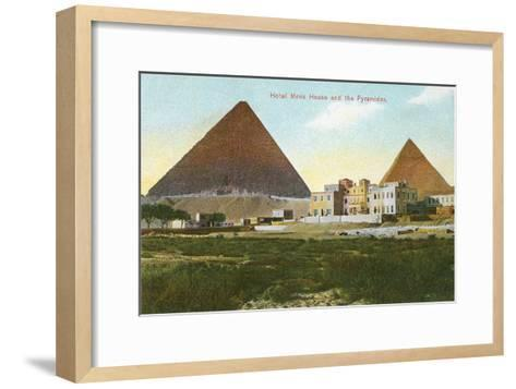 Hotel Mena House, Pyramids, Giza, Egypt--Framed Art Print