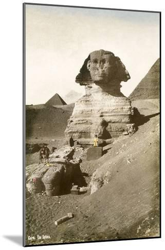 The Sphinx--Mounted Art Print