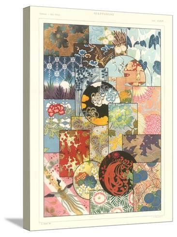 Japanese Design Motifs--Stretched Canvas Print
