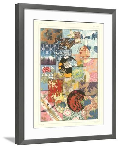 Japanese Design Motifs--Framed Art Print
