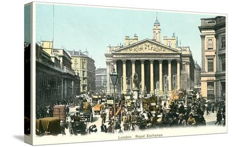 Royal Exchange, London, England--Stretched Canvas Print