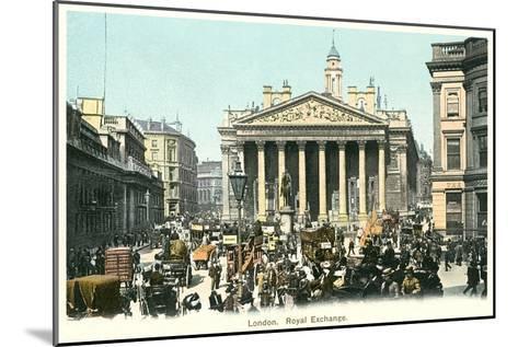 Royal Exchange, London, England--Mounted Art Print