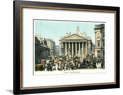 Royal Exchange, London, England--Framed Art Print