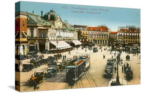 Massena Square, Casino, Nice, France--Stretched Canvas Print