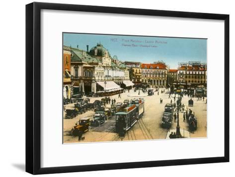 Massena Square, Casino, Nice, France--Framed Art Print