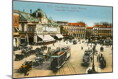 Massena Square, Casino, Nice, France--Mounted Art Print