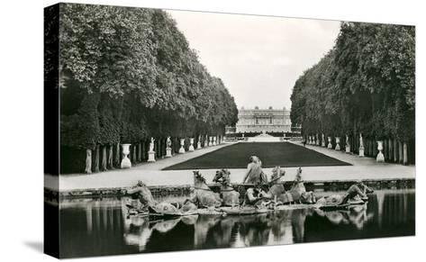 Neptune Fountain, Versailles, France--Stretched Canvas Print