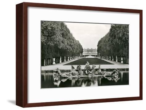 Neptune Fountain, Versailles, France--Framed Art Print