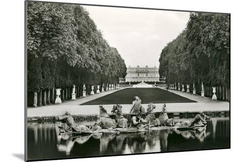 Neptune Fountain, Versailles, France--Mounted Art Print