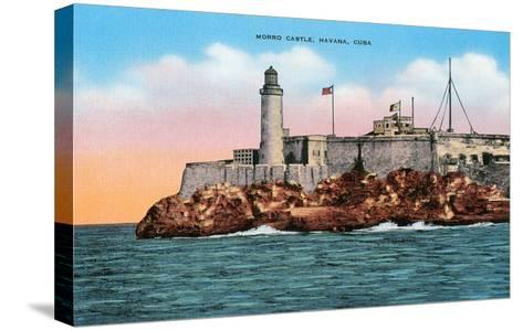 Morro Castle, Havana, Cuba--Stretched Canvas Print