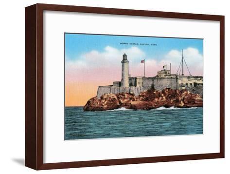 Morro Castle, Havana, Cuba--Framed Art Print
