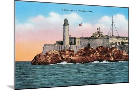 Morro Castle, Havana, Cuba--Mounted Art Print