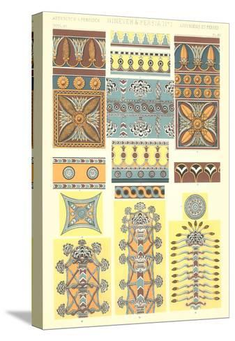 Ancient Near East Designs and Motifs--Stretched Canvas Print