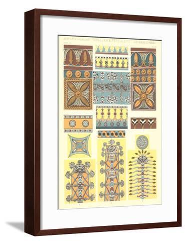 Ancient Near East Designs and Motifs--Framed Art Print