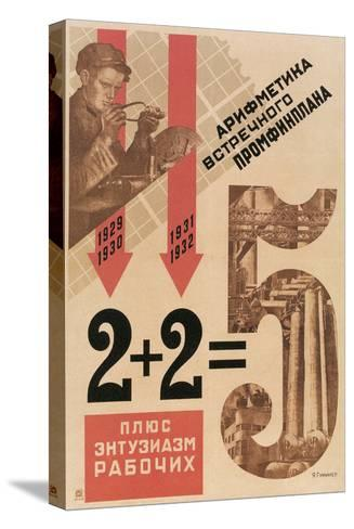 Bad Soviet Math--Stretched Canvas Print