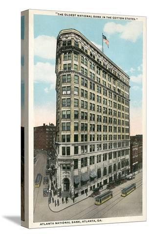 Atlanta National Bank--Stretched Canvas Print