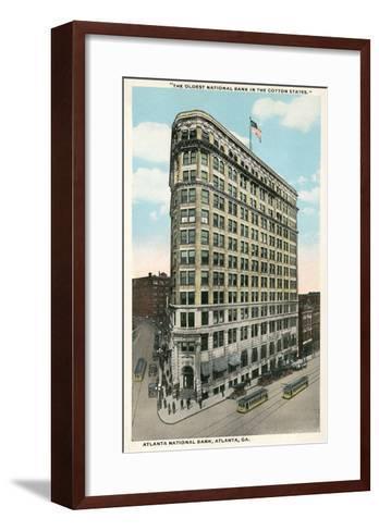 Atlanta National Bank--Framed Art Print