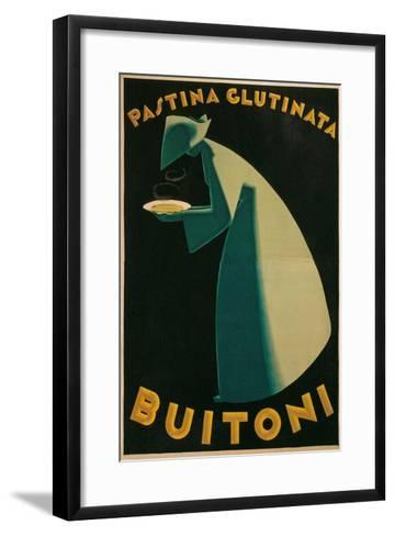 Buitoni Pasta Advertisement--Framed Art Print