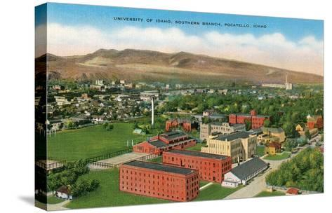 University of Idaho at Pocatello--Stretched Canvas Print