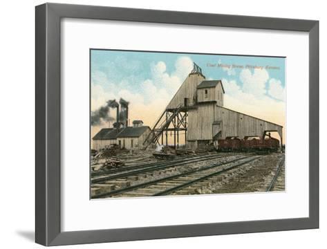 Coal Loadinig Facility, Pittsburg, Kansas--Framed Art Print