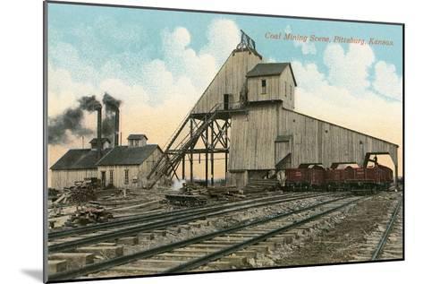 Coal Loadinig Facility, Pittsburg, Kansas--Mounted Art Print
