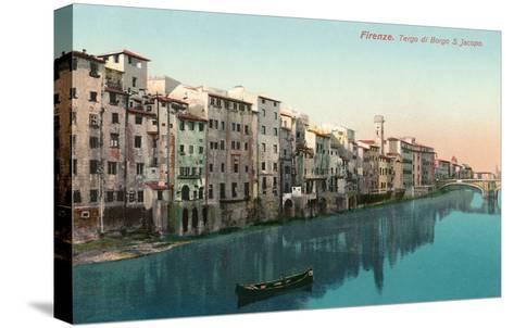 Tergo Di Borgo, San Jacobo, Florence, Italy--Stretched Canvas Print
