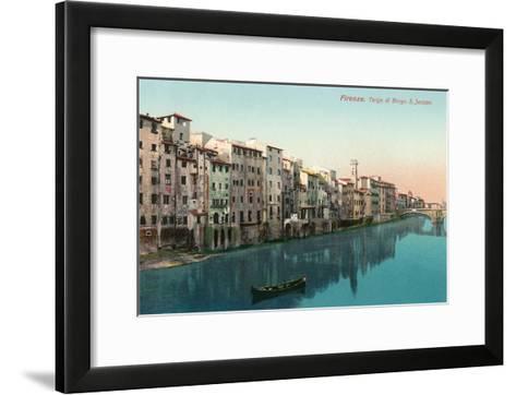 Tergo Di Borgo, San Jacobo, Florence, Italy--Framed Art Print