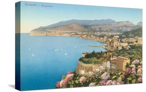 View of Sorrento, Italy--Stretched Canvas Print