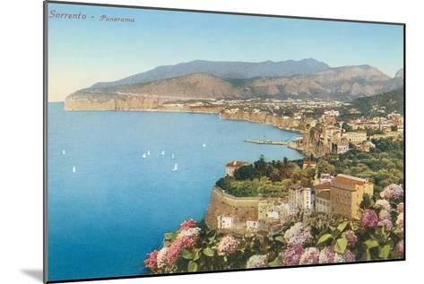 View of Sorrento, Italy--Mounted Art Print