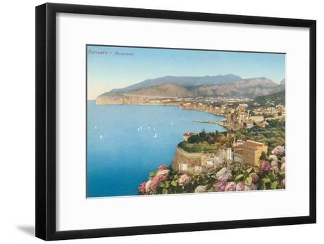 View of Sorrento, Italy--Framed Art Print