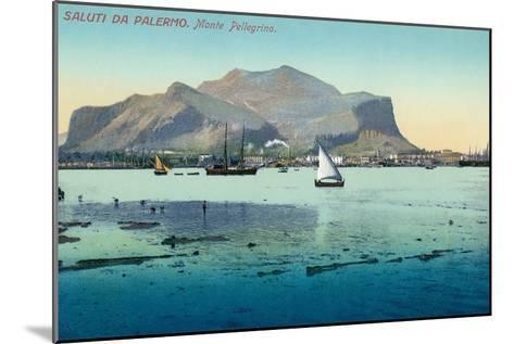 Saluti Da Palermo, Sicily, Italy--Mounted Art Print