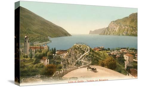 Lago Di Garda, Italy--Stretched Canvas Print
