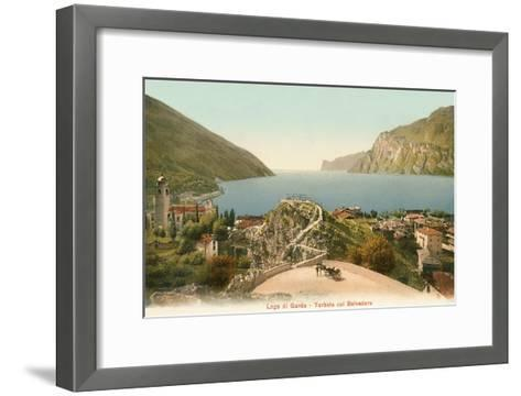 Lago Di Garda, Italy--Framed Art Print