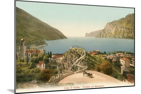 Lago Di Garda, Italy--Mounted Art Print