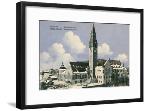 National Museum, Helsinki, Finland--Framed Art Print