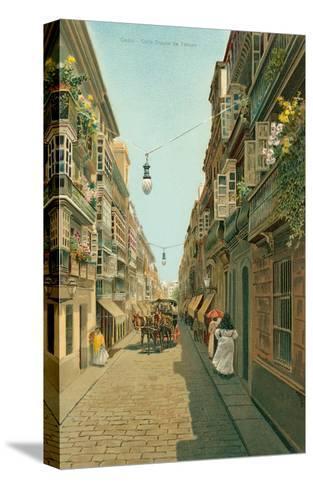 Calle Duque De Tetuan, Cadiz, Spain--Stretched Canvas Print
