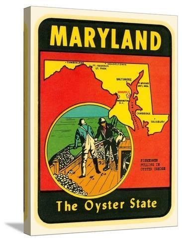 Decal for Maryland--Stretched Canvas Print