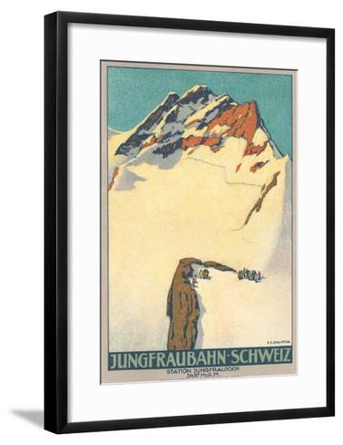 Jungfrau, Swiss Alps--Framed Art Print