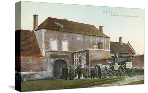 Chateau Near Waterloo Battlefield--Stretched Canvas Print