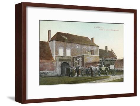 Chateau Near Waterloo Battlefield--Framed Art Print
