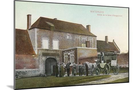 Chateau Near Waterloo Battlefield--Mounted Art Print
