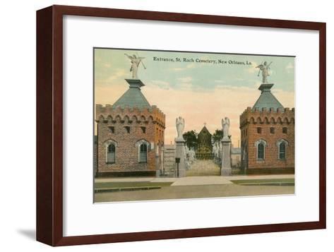 St. Roch Cemetery, New Orleans, Louisiana--Framed Art Print