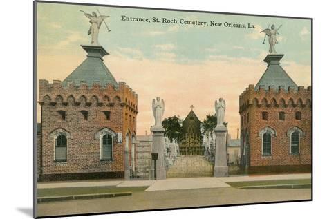 St. Roch Cemetery, New Orleans, Louisiana--Mounted Art Print