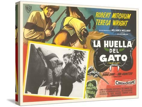 Mexican Advertisement for Cowboy Movie--Stretched Canvas Print